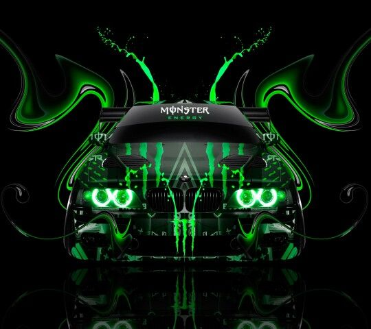 Monster Energy, Vehicles, Car, Vehicle