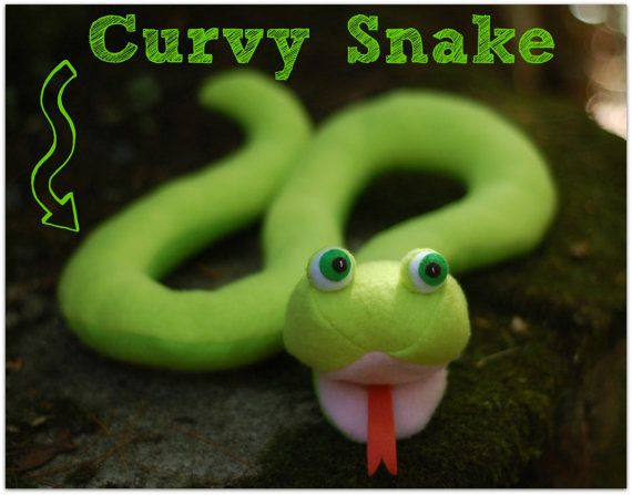 Squeaky Snakes PDF Sewing Pattern - 3 Designs in One | Nähen ...