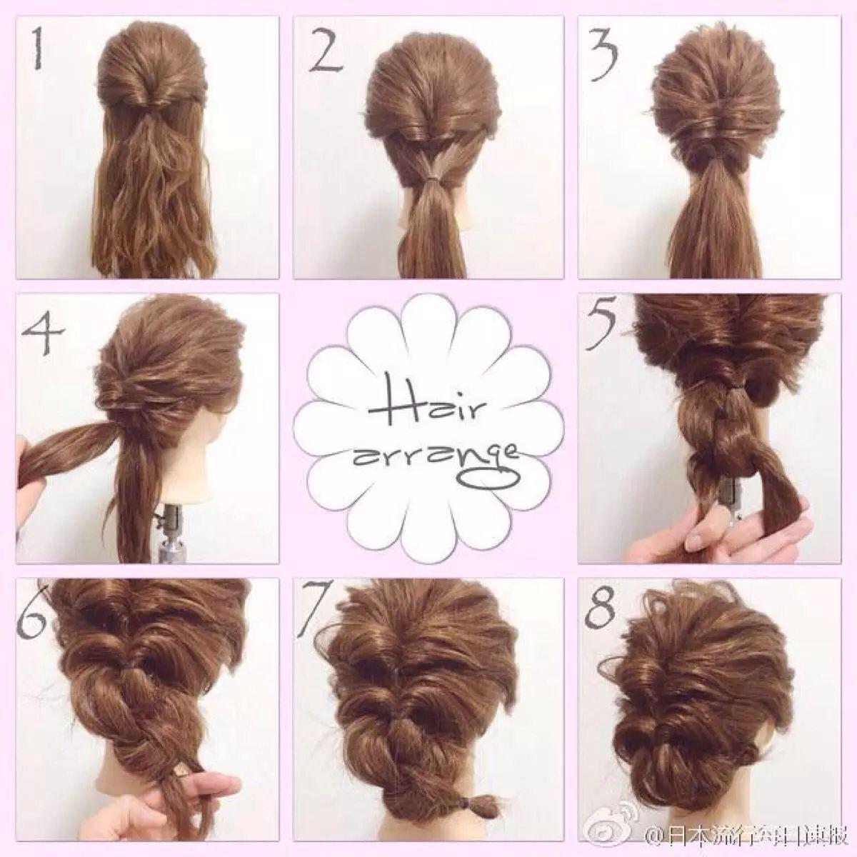 Wedding Inspiration // Hair | Wedding Hair - The Search | Pinterest ...