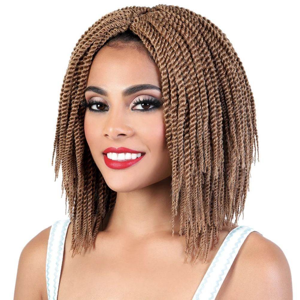 CST.10M SENEGAL TWIST - 80 Loops - 10 Inch by Motown Tress - Crochet FeatherLite Senegal Twist..ADDITIONAL INFORMATION:Type: Crochet Braiding Hair - SyntheticLength: 10