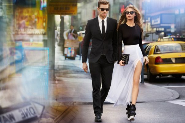 La famosa marca americana DKNY presenta su campaña primavera verano 2013