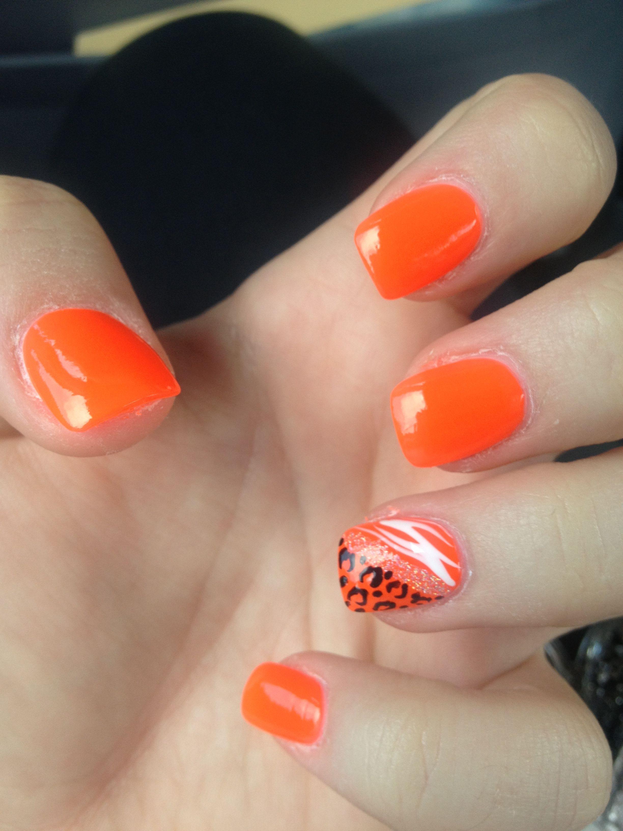 Dark Orange Nails #colorsoftheweek | Ultra Duty Colors of the Week ...