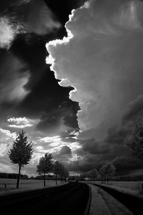Stormy Into The Nigh Share Moments Black And White Photography White Photography Landscape Photography