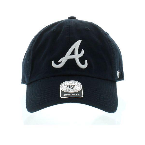 Atlanta Braves Clean Up Dad Hat Craniumfitteds Com Dad Hats Atlanta Braves Hats