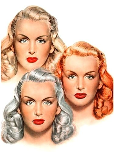 1947 - blond red gray
