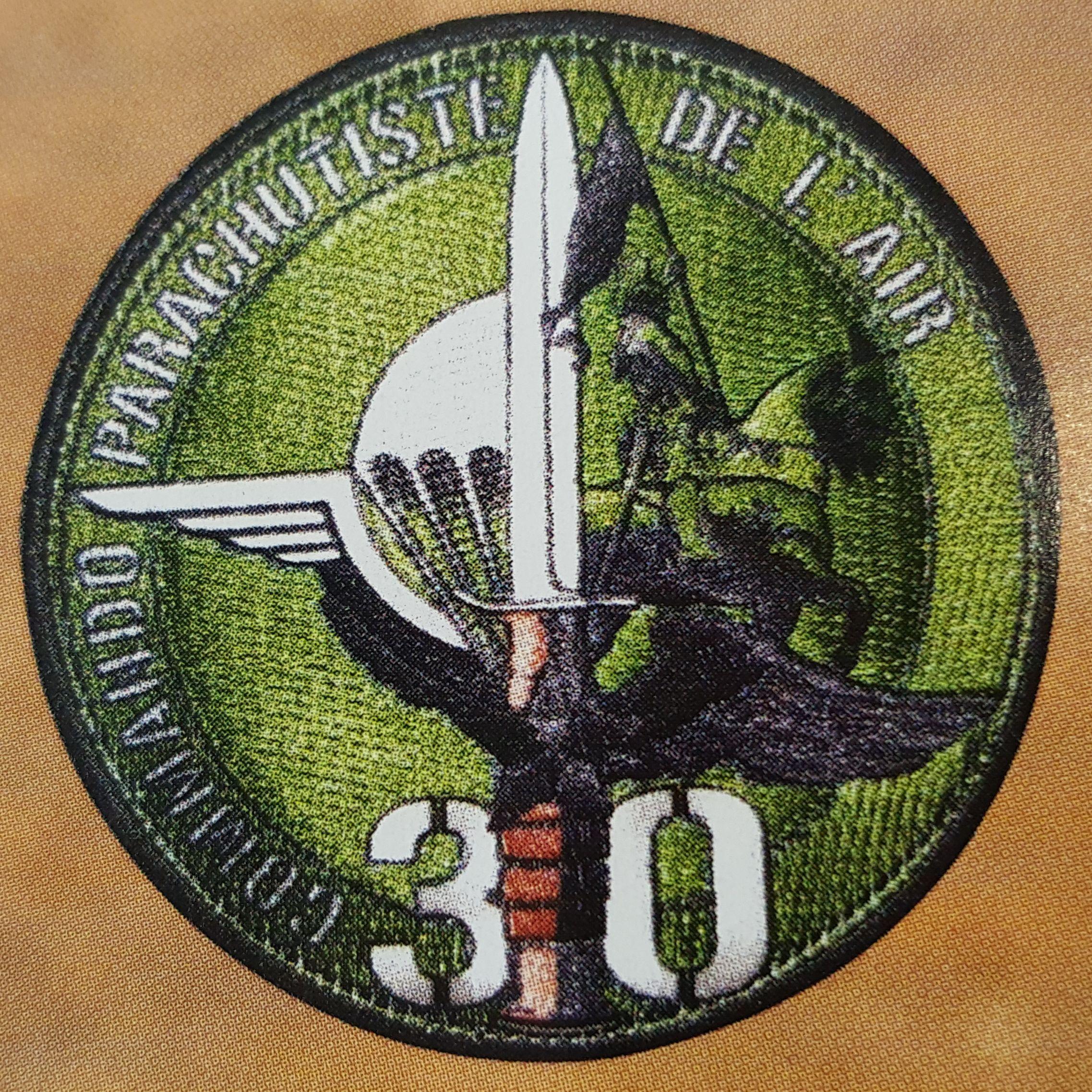 Nouvel insigne du CPA30 homologué en 2018 Armée de l'air