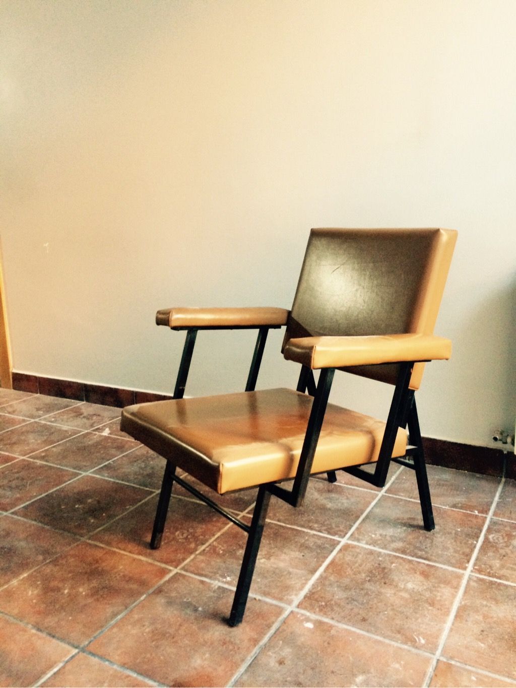 Conjunto De 6 Sillones Estilo Vintage La Estructura Es Met Lica Y  # Muebles Leticia Elche