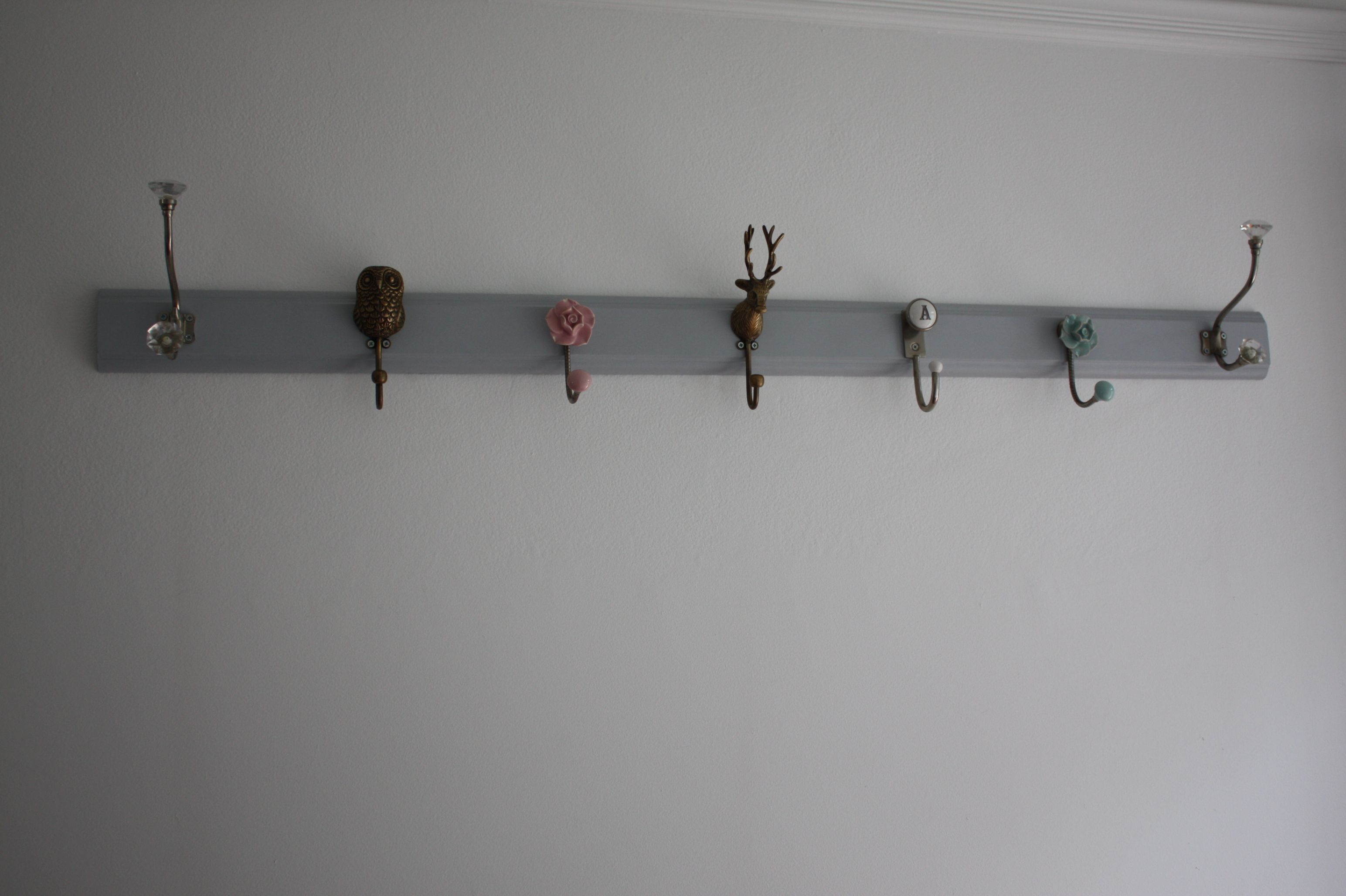 Furniture Simple Hang Coat Rack Design Cool Coat Hooks Ideas ...