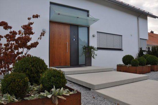 Hauseingang Gestalten Beispiele hauseingang modern gestalten die schönsten einrichtungsideen
