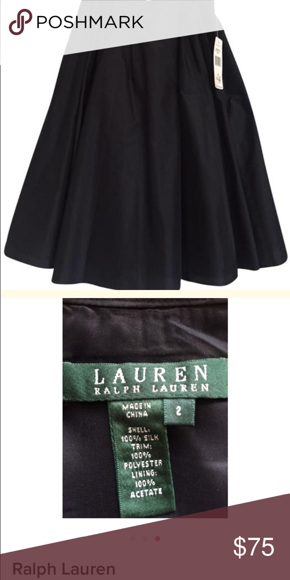 💥Clearance🔥NWT Ralph Lauren Silk Skirt This is a fun and flow he Ralph Lauren skirt. New with tags. Retail price $199. Price: Firm. Ralph Lauren Skirts A-Line or Full