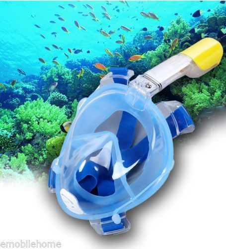 Anti Fog Detachable Dry Snorkeling Full Face Mask Set for GoPro Camera Scuba Div - http://scuba.megainfohouse.com/anti-fog-detachable-dry-snorkeling-full-face-mask-set-for-gopro-camera-scuba-div/