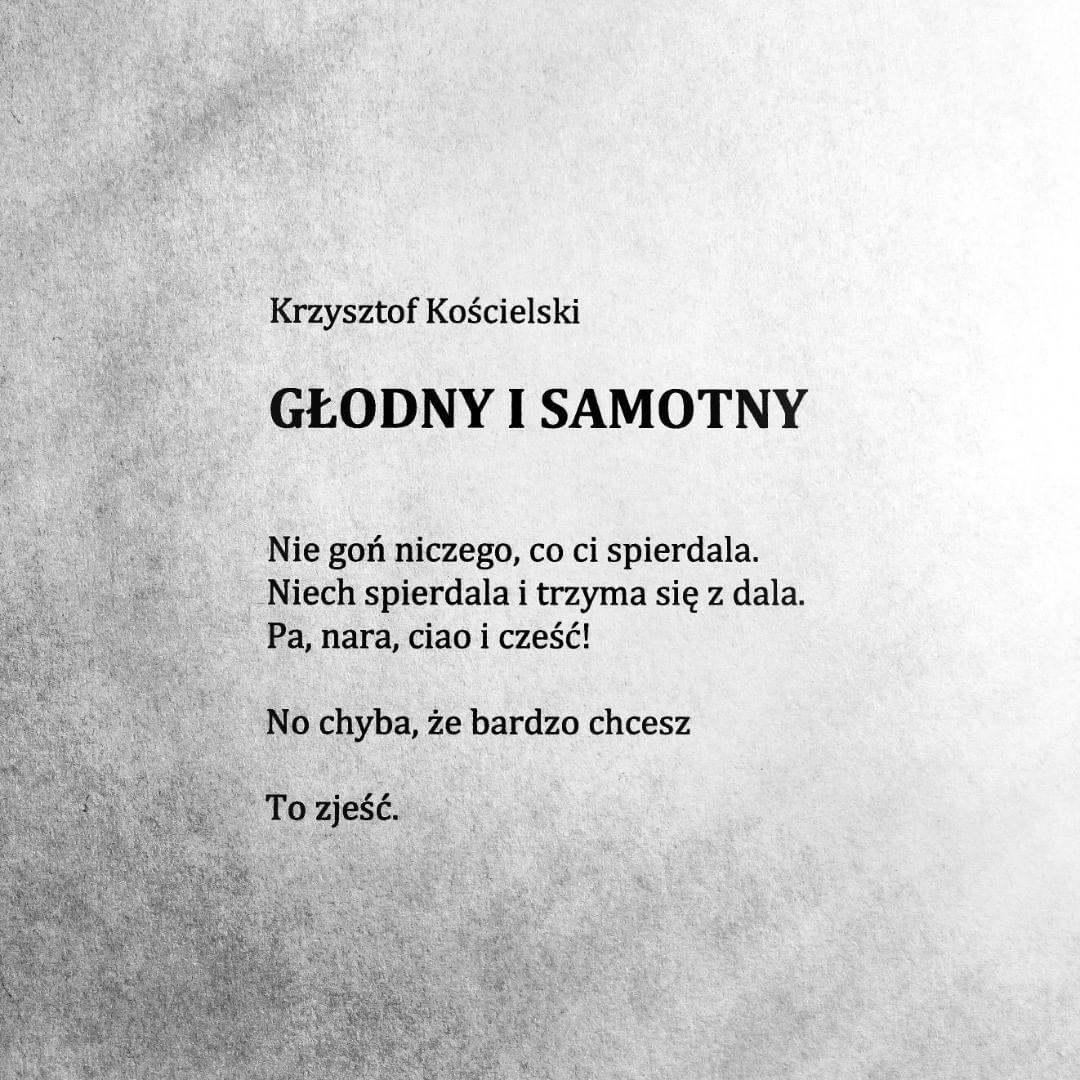 Jak Wilk Koscielskiego Krzysztofkościelski Wilk Poems