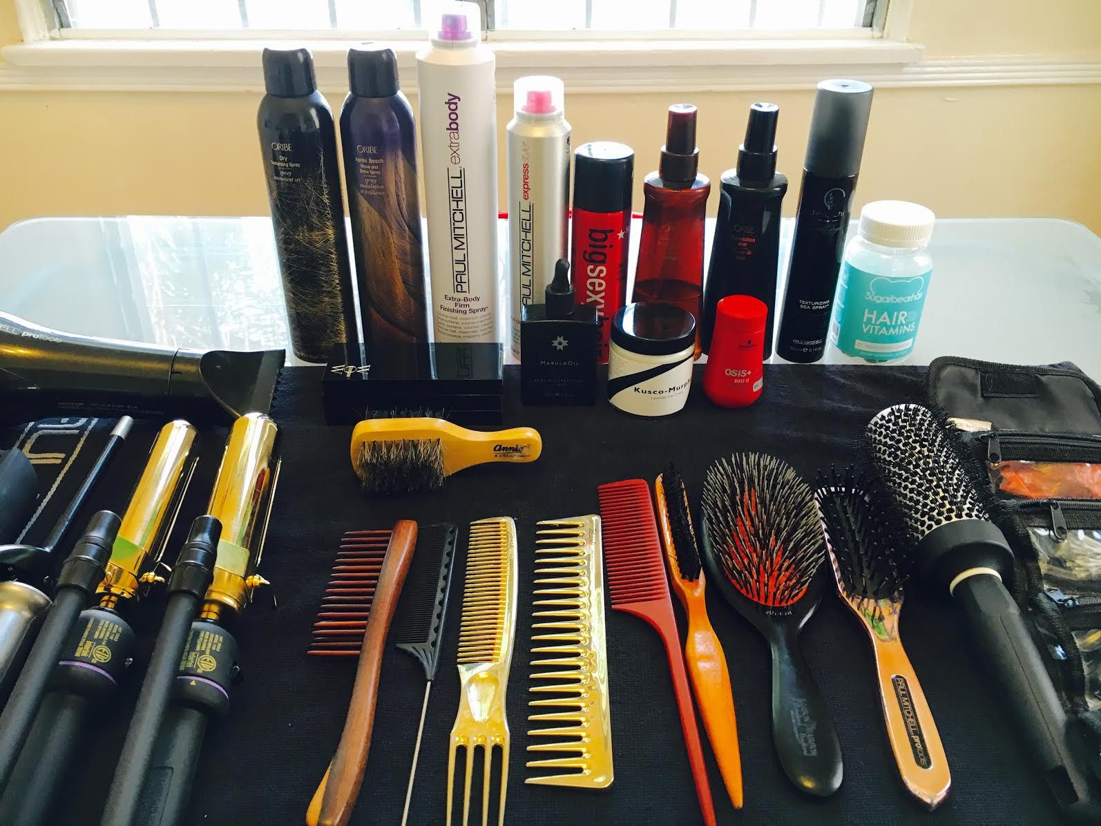 Hair Professional Kit Bag Celebrity Stylist Stylist kit