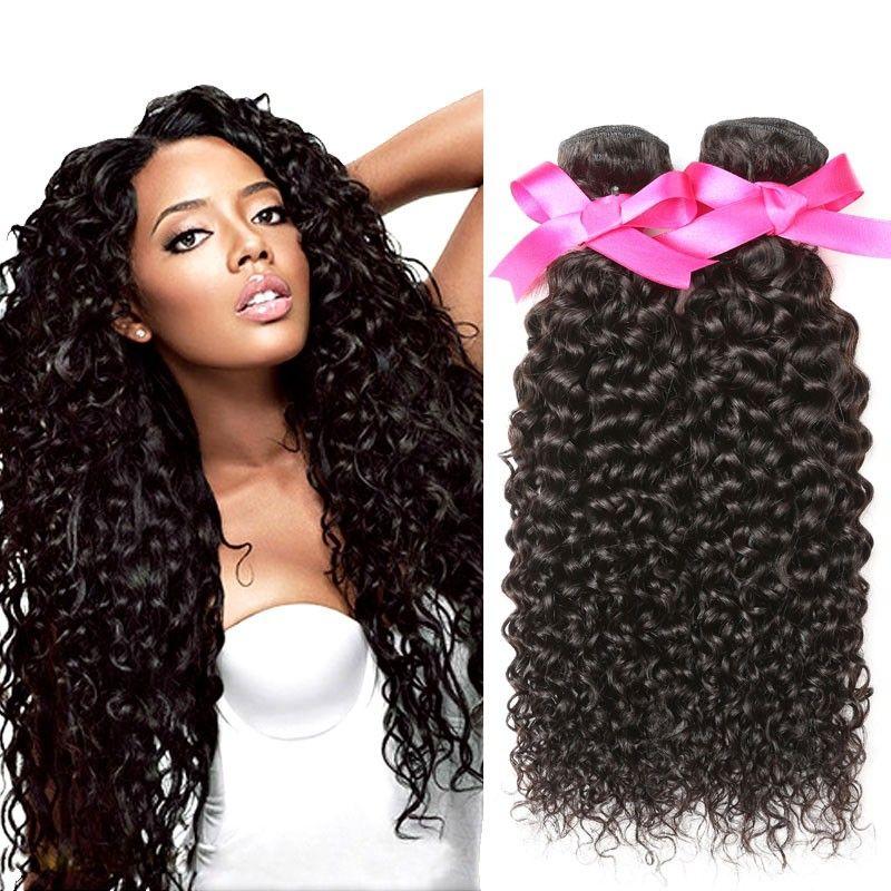 Dsoar Hair 3 Bundles Peruvian Curly Virgin Hair Weavedeep Curly