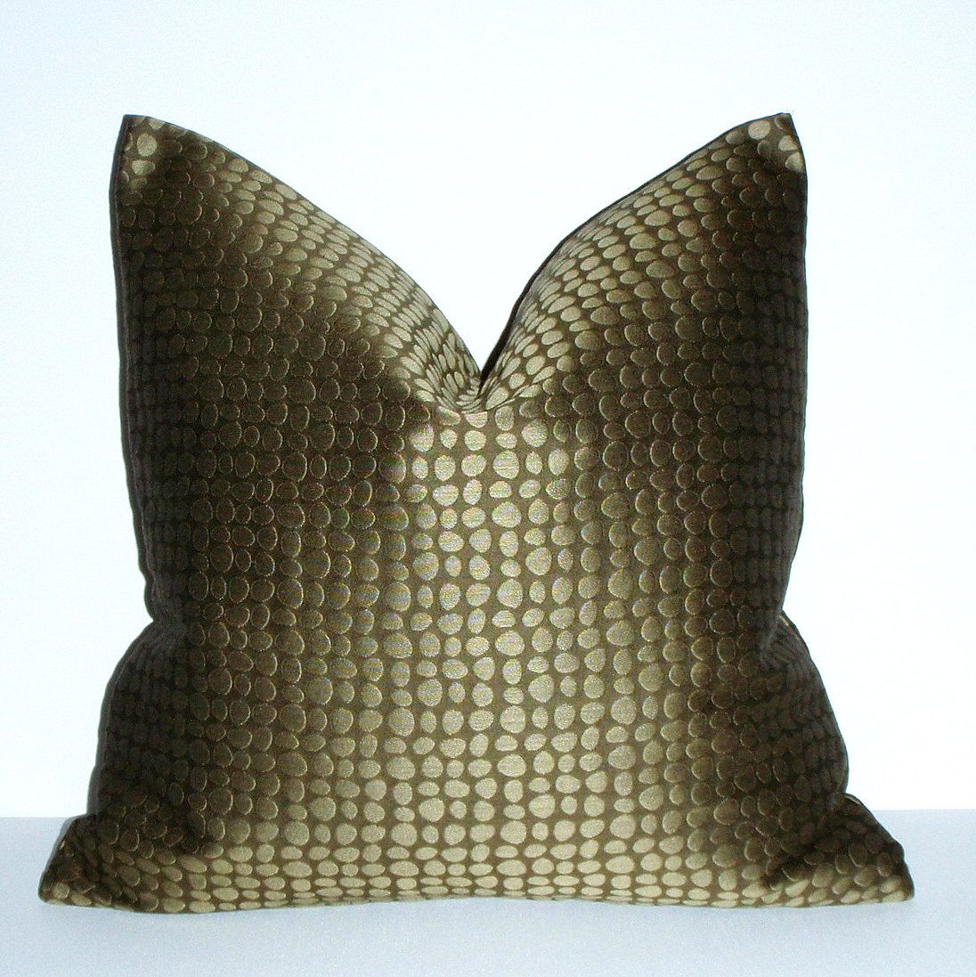 olive green pillows. Olive Green Pillow - Pebbles 20x20 Decorative Upholstery Throw Cover. Pillows T