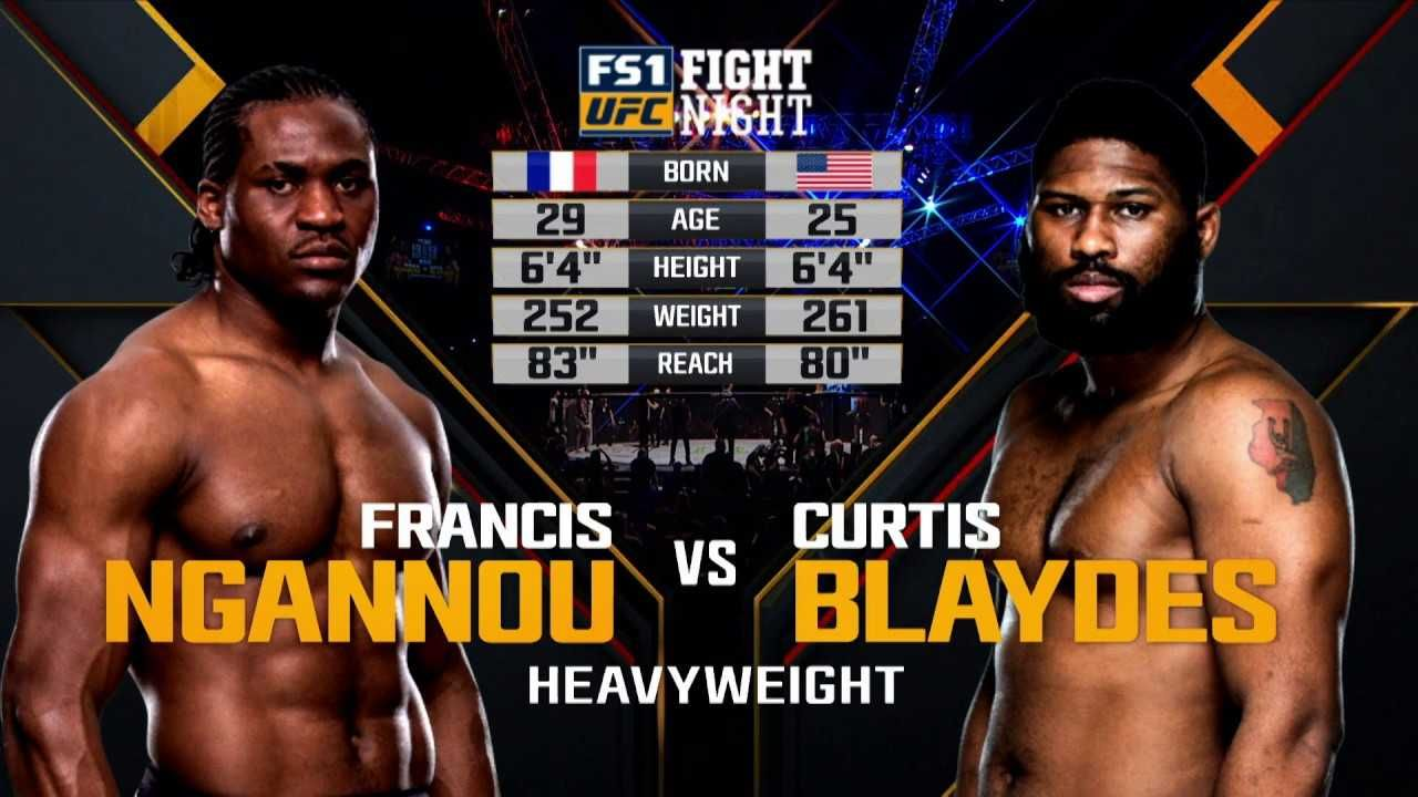 Ufc Fight Night 141 Blaydes Vs Ngannou Live Stream Sporting Live Ufc Fight Night Streaming