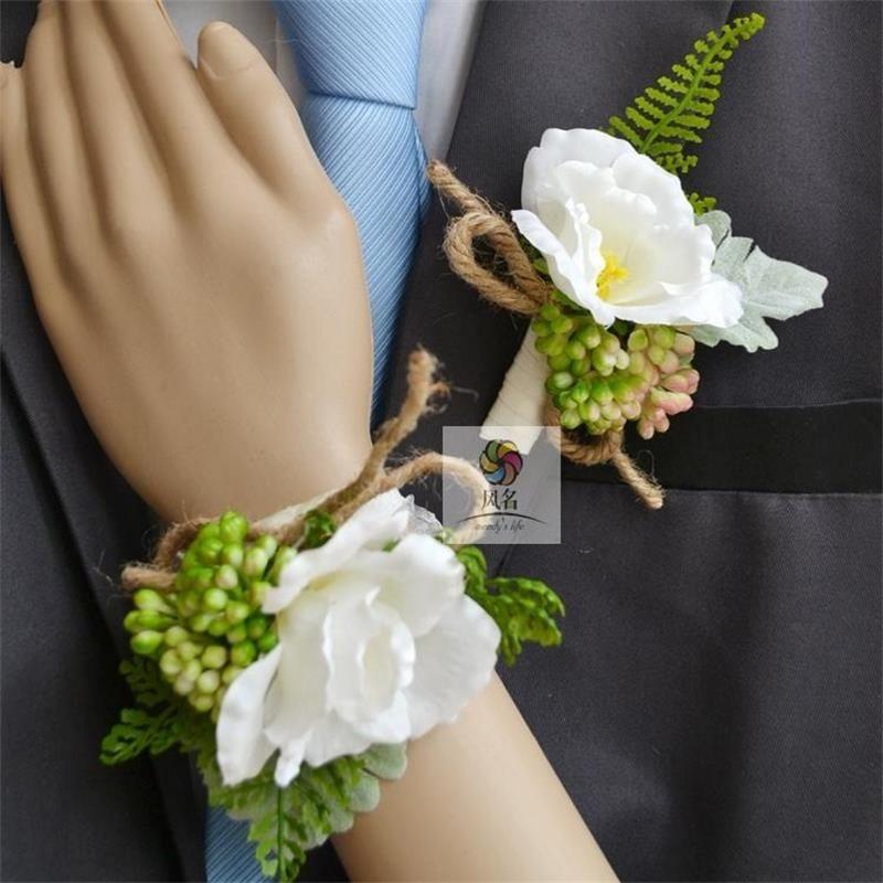 pas cher meilleur homme mariage boutonni re mari parrain broche corsage accessoires fournitures. Black Bedroom Furniture Sets. Home Design Ideas