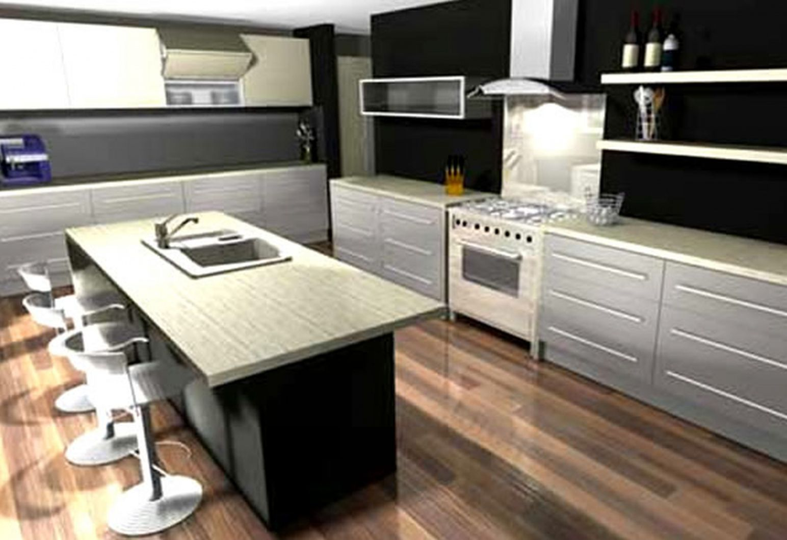 100+ Kitchen Color Design tool - Custom Kitchen island Ideas Check ...