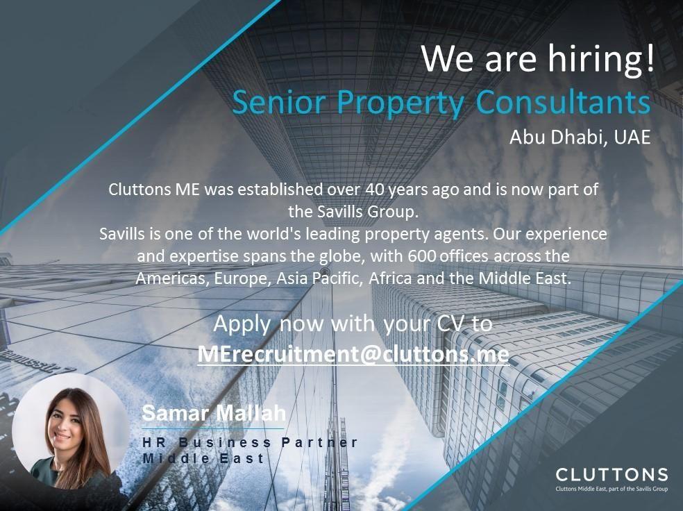 Property Consultants UAE Job Openings Job opening, Hr