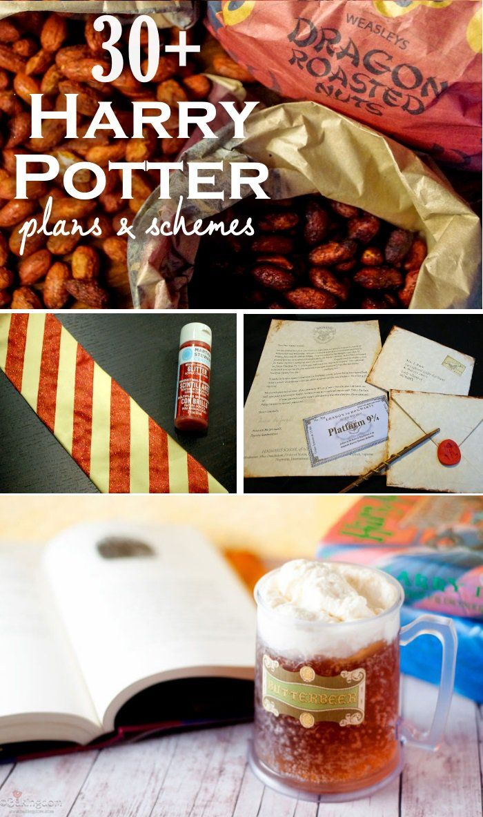 30+ Magical Harry Potter Inspired Crafts and Activities - One ...