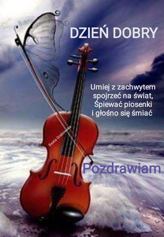 Pin By Ela Bieta Z On Dzien Dobry In 2020 Music Music Instruments