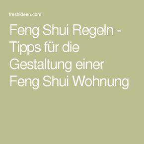 Feng Shui Regeln feng shui regeln tipps für die gestaltung einer feng shui wohnung