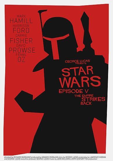 Saul Bass - Star Wars - Movie Poster