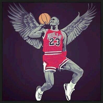 Michael Jordan Voler Comme Un Aigle