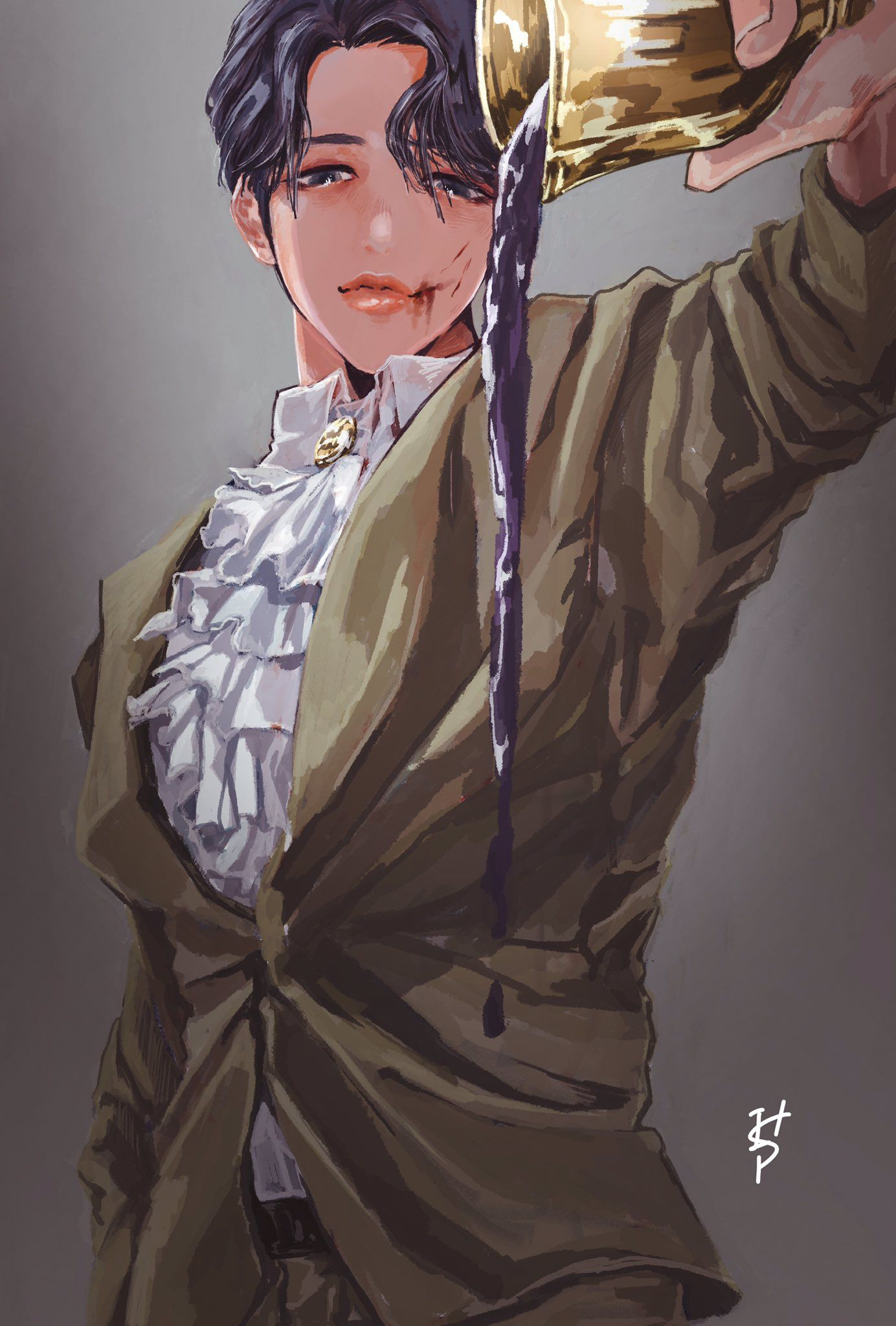 "Photo of ༺ɨᏚ༻ on Twitter: ""Jimin. #btsfanart… """