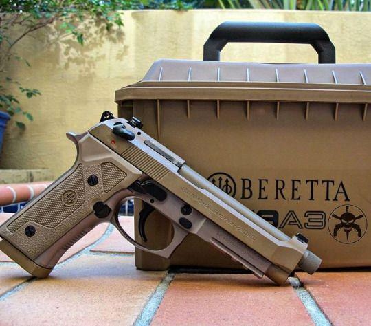 Beretta M9A3 9 mm | Guns berretta M9A3 | Hand guns, Guns