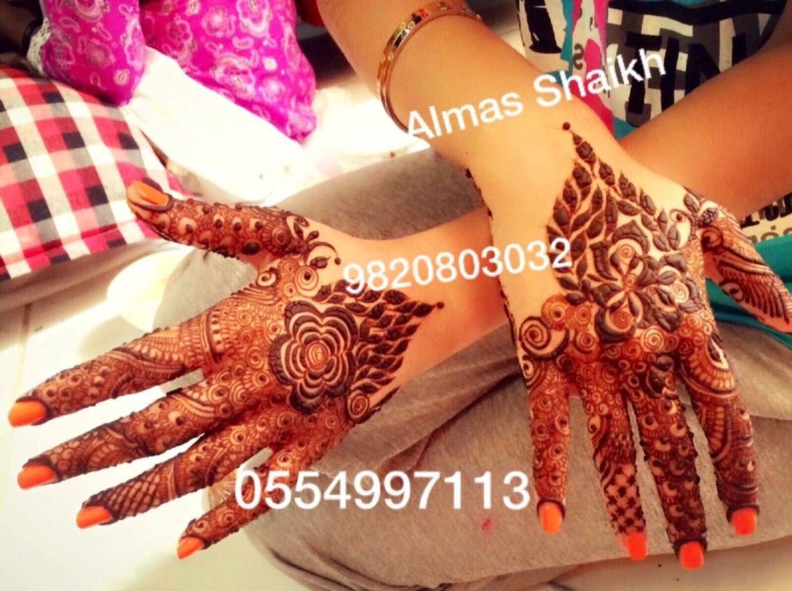 50 intricate henna tattoo designs art and design 50 -  Performing Arts Mehndi Designs Almas Shaikh