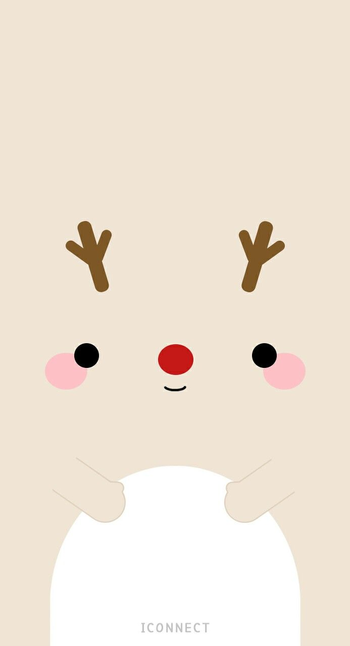 Reindeer christmas in pinterest wallpaper iphone