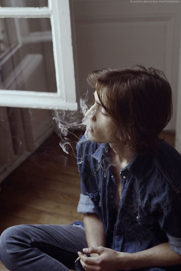 Portrait of Eric by Marta Bevacqua