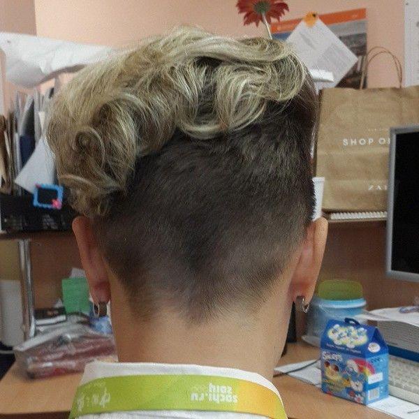 Frisur locken nacken kurz