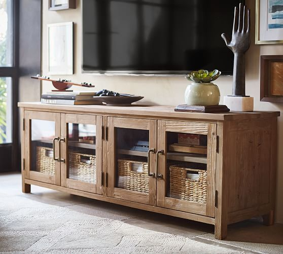 parker media console potterybarn including shipping which can be expensive to central oregon