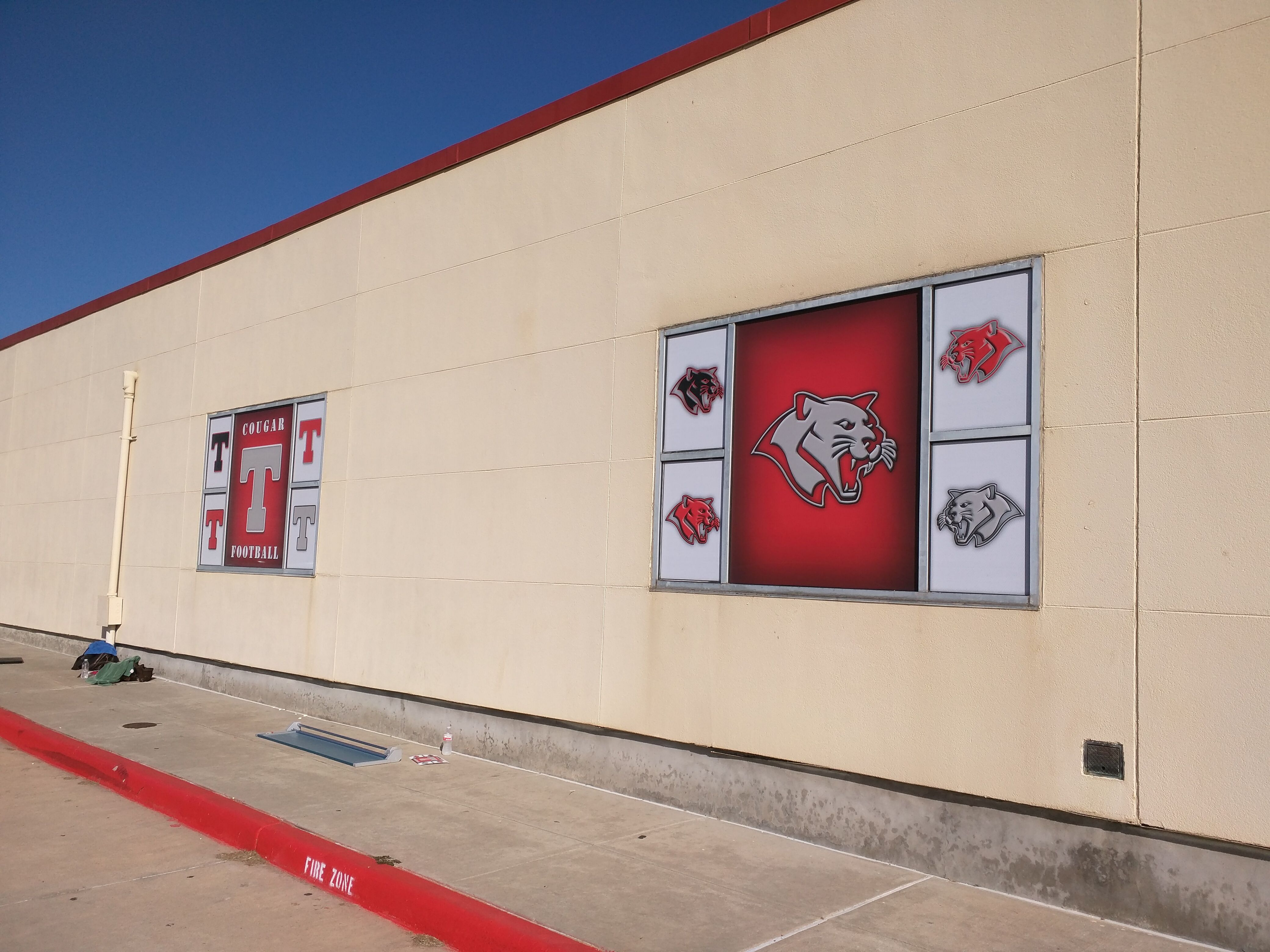 Tomball High School Coach S Office Windows School Coach