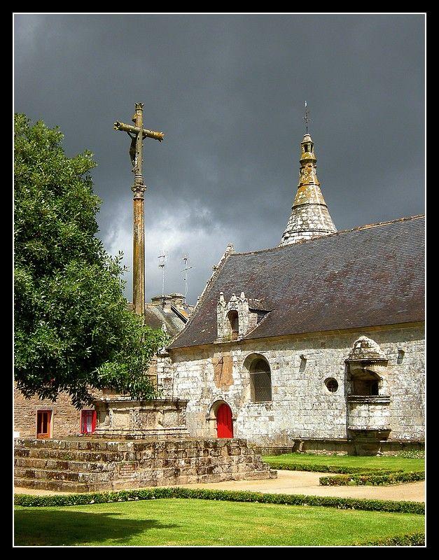 Eglise Notre Dame , Le Guerno - Le Guerno, Bretagne