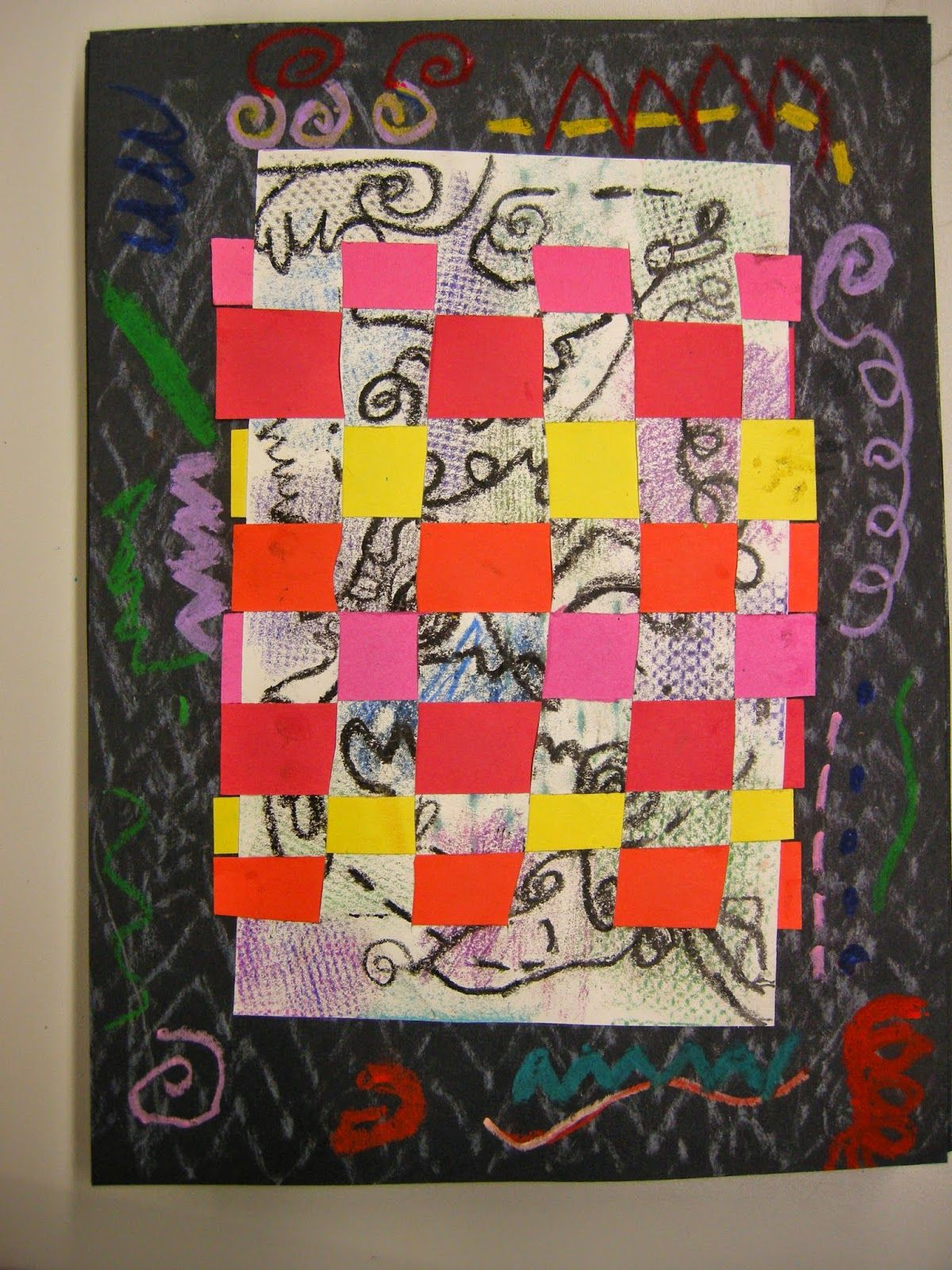 Second Grade Artists Learned About The Russian Artist Wassily Kandinsky And Looked Closely At