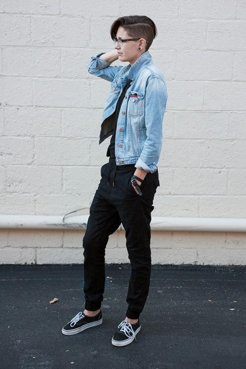 Dyke Fashion   tomboy in 2019   Tomboy fashion ...