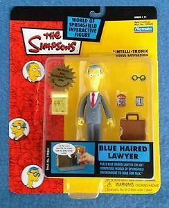 The Simpsons Blue Haired Lawyer World Of Springfield Action Figure
