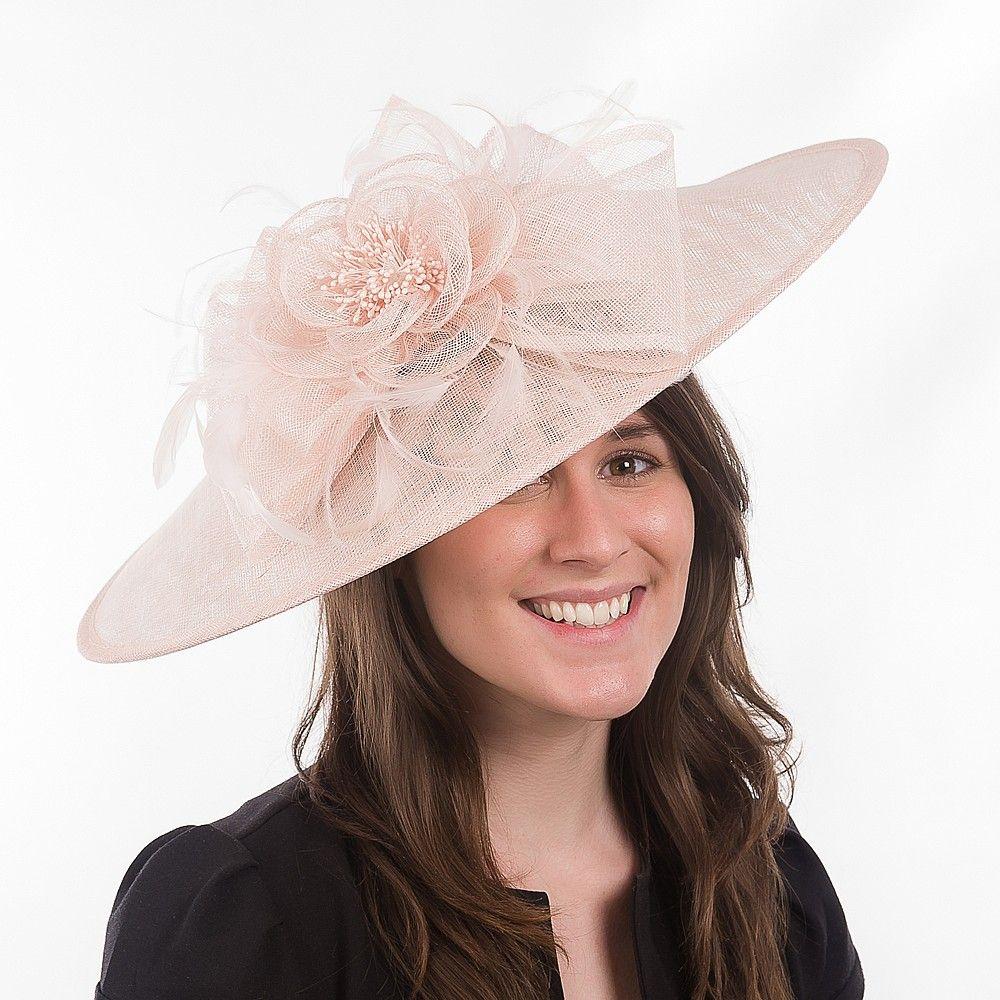 Jane Anne Designs Catherine Wedding Fascinator - Light Pink from Village  Hats. 243614fe86a