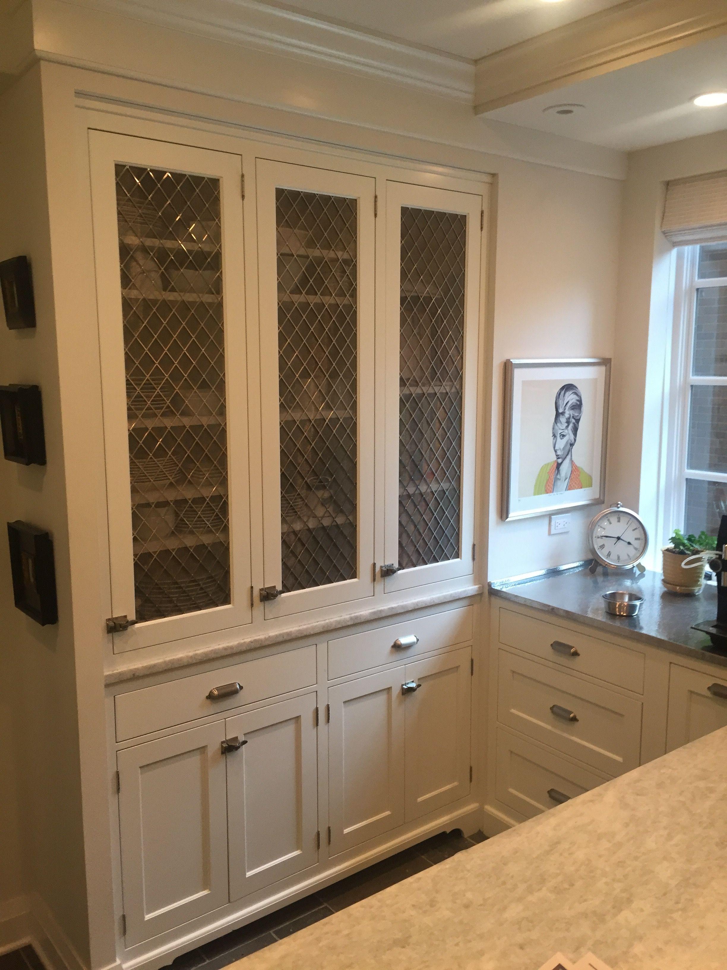 CHROME MESH   Kitchen cabinets, Home decor, China cabinet