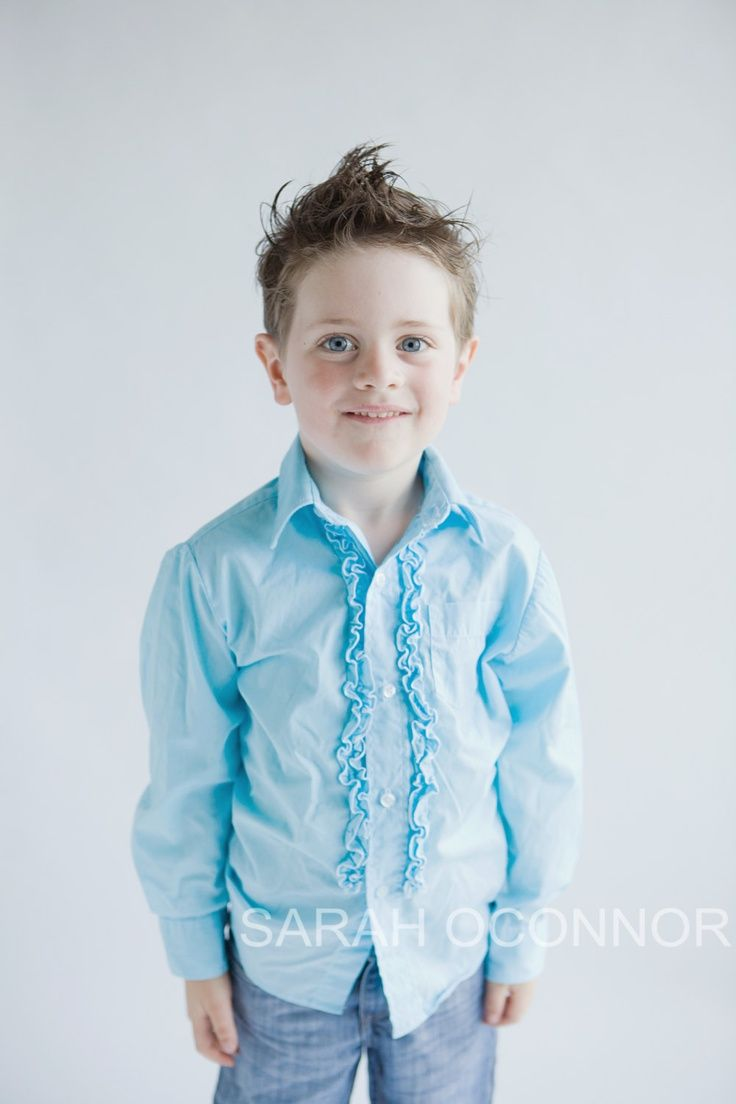 Boys & MENS Vintage Ruffle Tuxedo dress shirt for ring bearer, groom ...