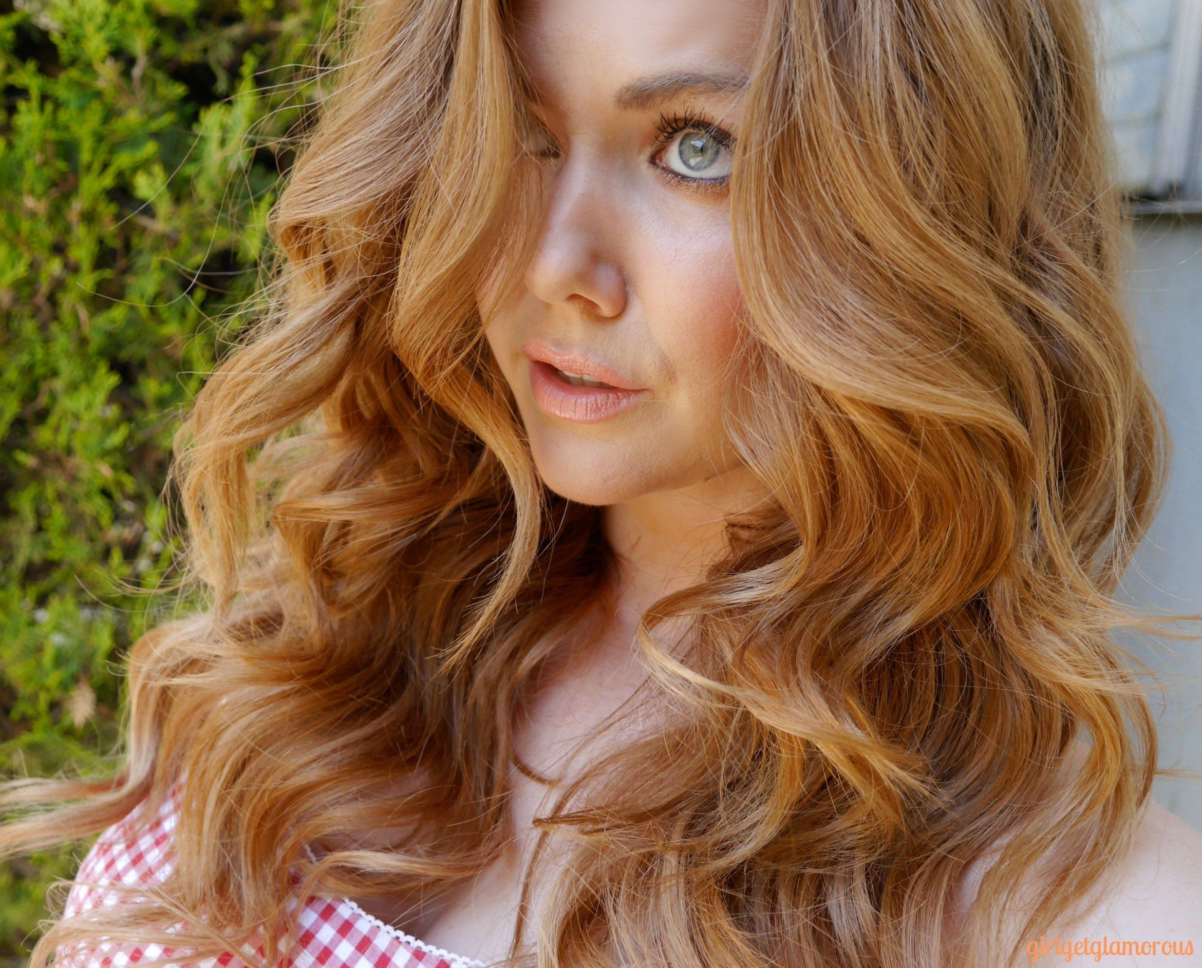 How To Curl Your Hair Make The Curls Last Strawberry Blonde