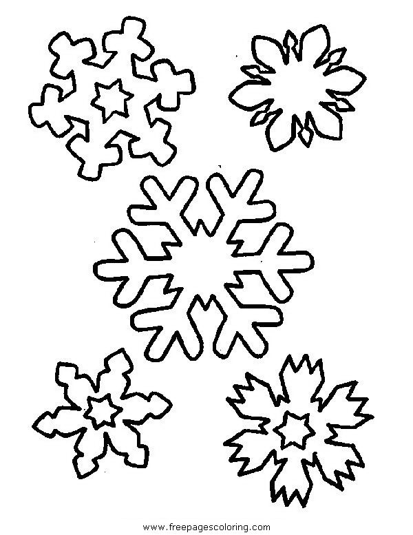 Christmas Colouring Pages Snowflake Christmas Coloring Pages