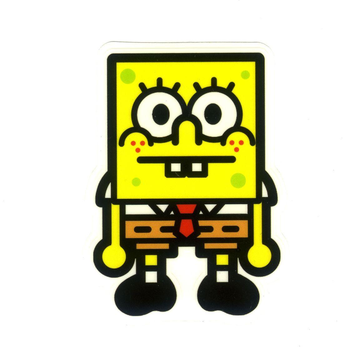 Baby Milo X Spongebob And Friends Width Cm Decal Sticker - Spongebob decals for cars