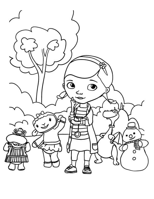 Doc mcstuffins coloring pages to print  McStuffins fest