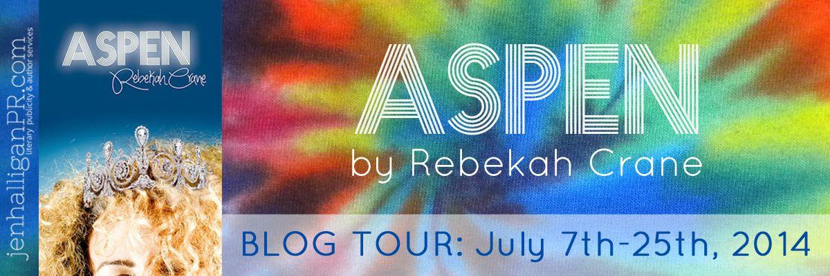 Aspen watercolor background gear art blog tour