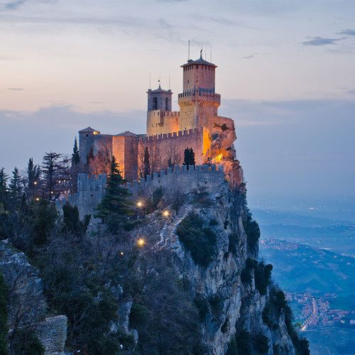 San Marino is a country within a country (Italy) & one of the wealthiest countries in the world! #travelbetter