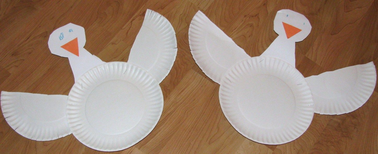 paper plate goose face mask printable - Google Search | Children\'s ...